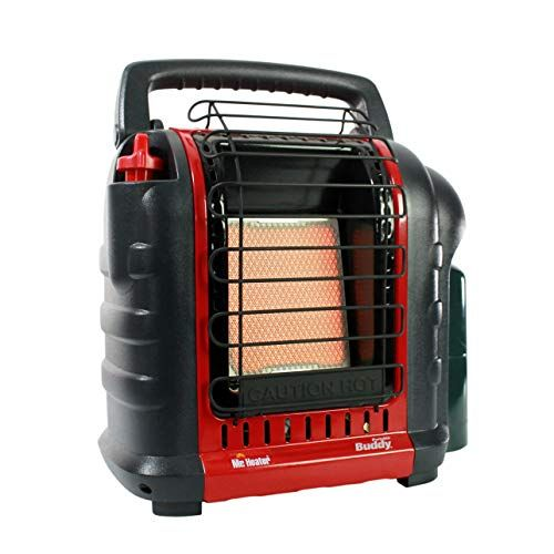 Mr Heater F232000 Mh9bx Buddy 4 000 9 000 Btu Indoor Safe Portable Propane Radiant Heater Red Black Indoor Outdoor Tent Camping