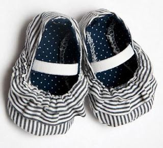 zapatos de tela de bebé