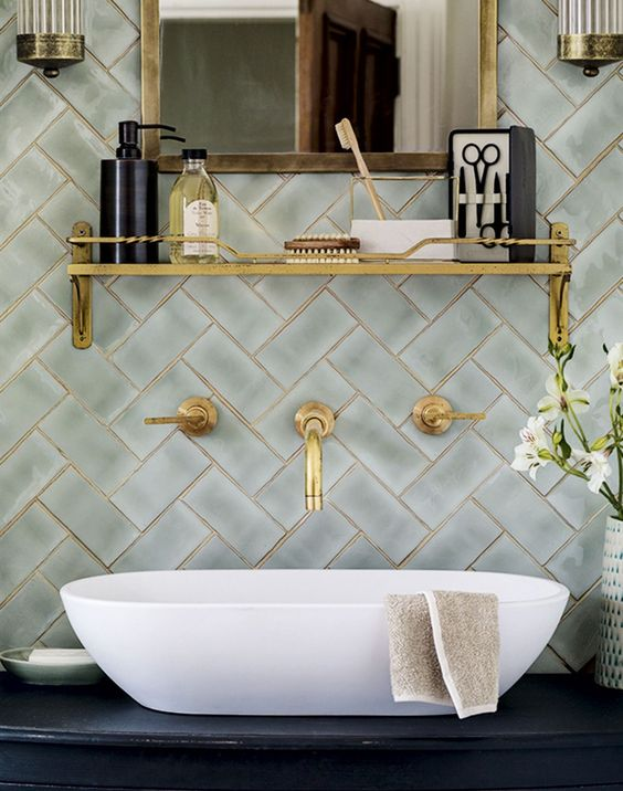 warm lustre wall tiles