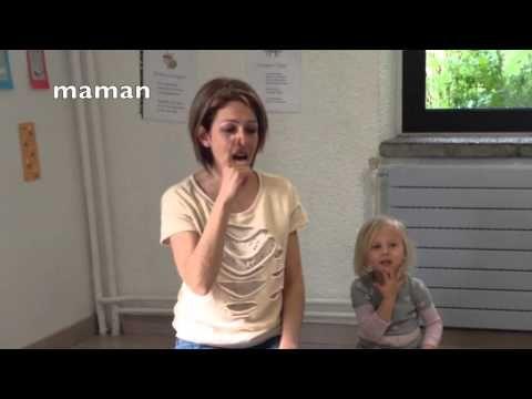 La famille tortue en langue des signes Français