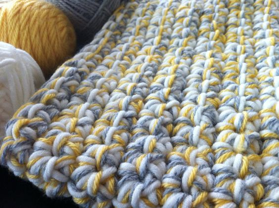 Crochet Patterns For Baby Blankets With Bulky Yarn : Pinterest The world s catalog of ideas
