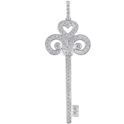 FANCY KEY PENDANT. Find it at Hayman Jewelry Co.