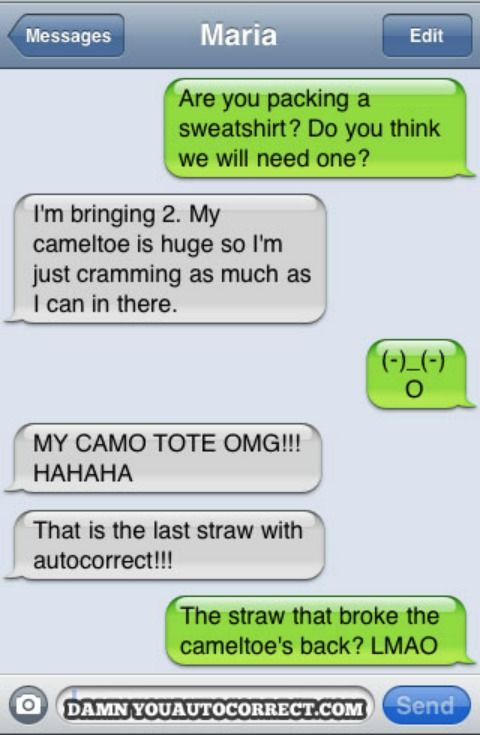 """There are so many good """"Damn you Autocorrects"""" out there..."""