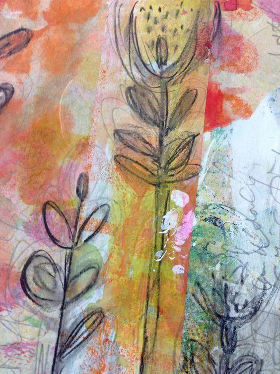 Using Inks in Art Journaling...