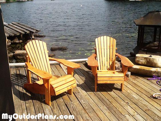 DIY Kids Adirondack Chair