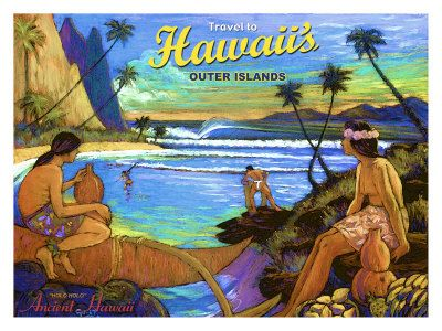 Hawaii poster for outer islands