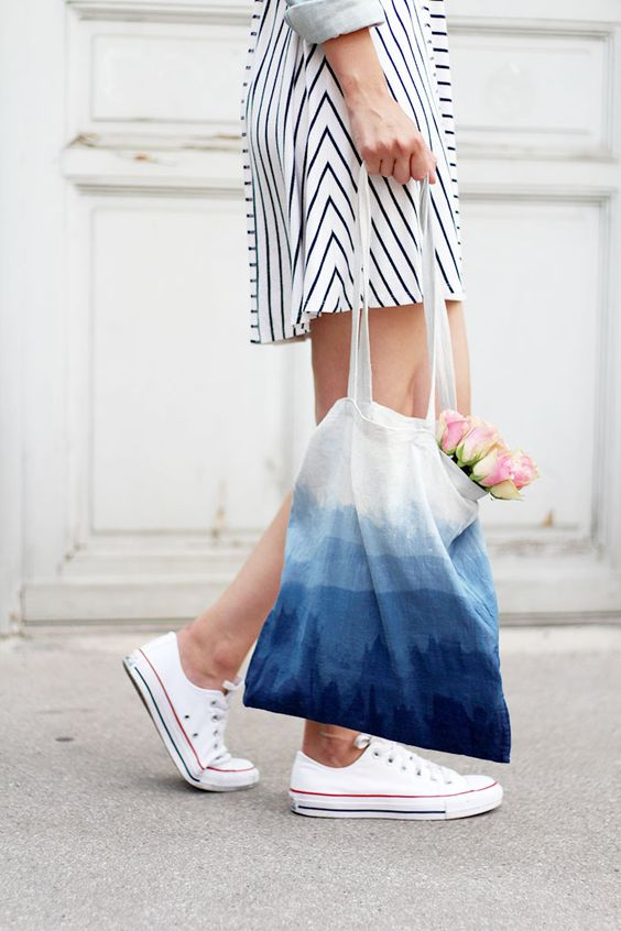 Tote bag con degradado