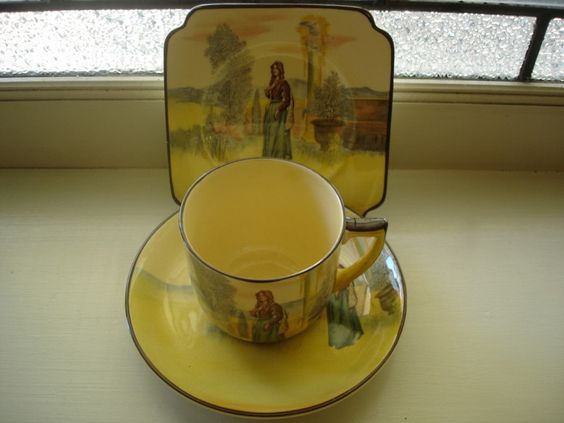 Antique Vintage Porcelain China Royal Doulton Shakespeare