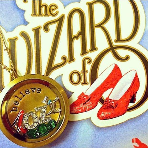 Wizard of OZ locket
