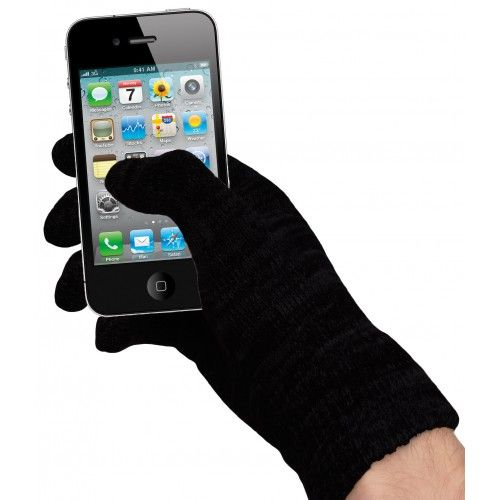 High Tech-Handschuhe für kalte Tage und Finger.