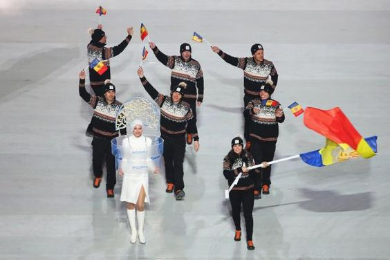 Andorra -- probably my favorite '14 opening ceremony outfits...