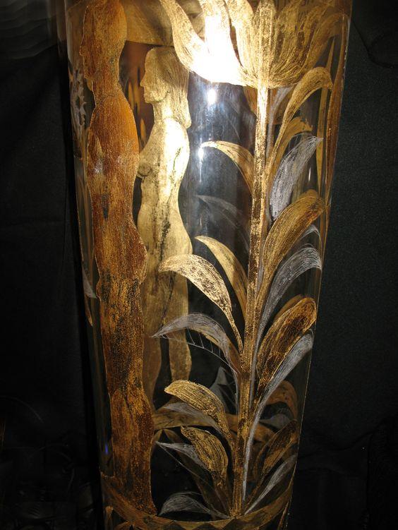 slagmetal gravat. sticla gravata.detaliu3