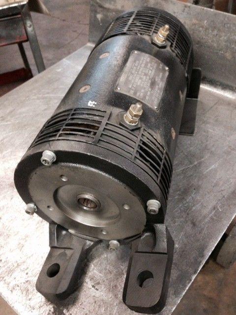 Details About 2309883 Clark Forklift Motor Reman