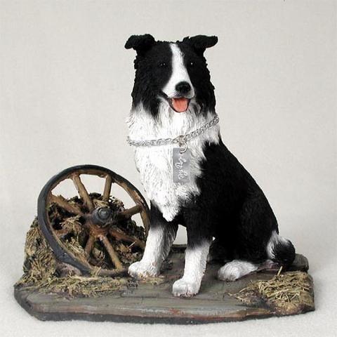 Dog Figurine Border Collie My