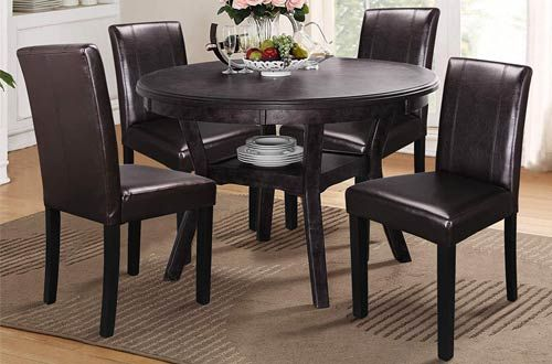 Top 10 Best Modern Kitchen Leather Dining Chairs Reviews In 2020 In 2020 With Images Dining Chairs Leather Dining Chairs Modern Leather Dining Chairs