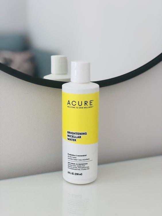 Мицеллярная вода для улучшения цвета кожи, Acure