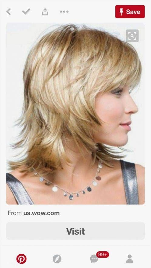 25 Short Shaggy Hairstyles For Thin Hair In 2020 Bangs With