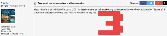 Free email marketing software with automation