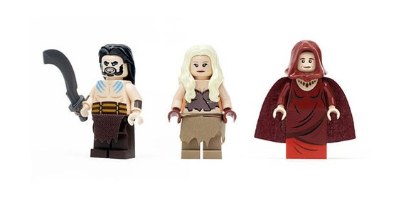 Un set LEGO de Game Of Thrones enfin disponible !