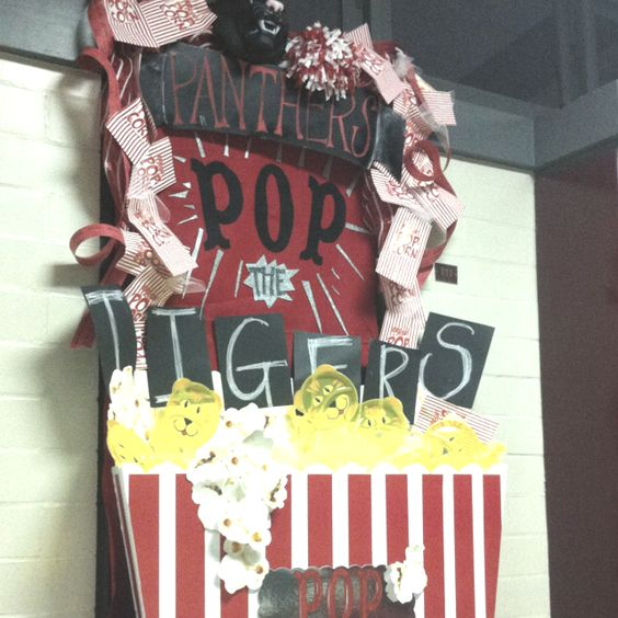 High School Homecoming Door Decorations Homecoming Ideas Pinterest High