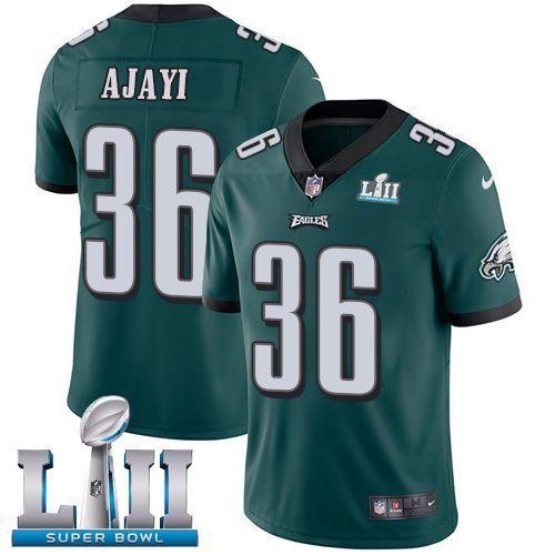 Men Philadelphia Eagles 36 Ajayi Green Limited 2018 Super Bowl NFL ...