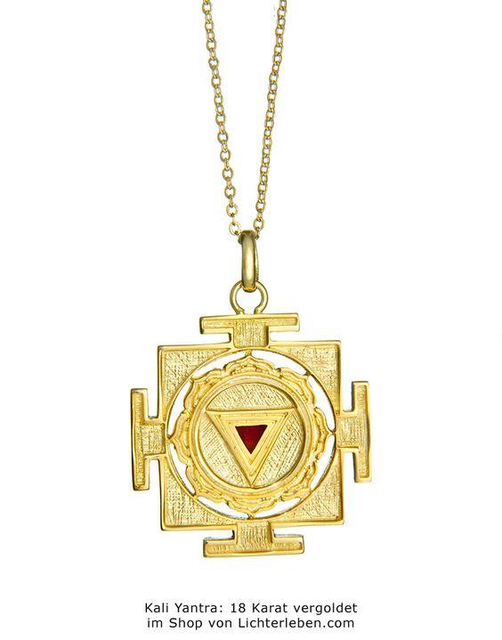 Kali Yantra in Gold