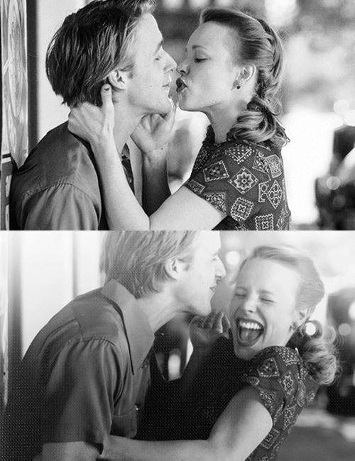 Inspiration for the1940s themed Gala I'm going to: Rachel McAdams and Ryan Gosling in The Notebook!