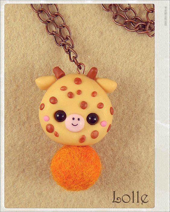 Clay Flurry Giraffe by LolleBijoux on deviantART