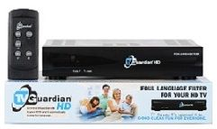 TV Guardian HD-- works to take out foul language on TV shows and movies-  I have one of these just not the hd one