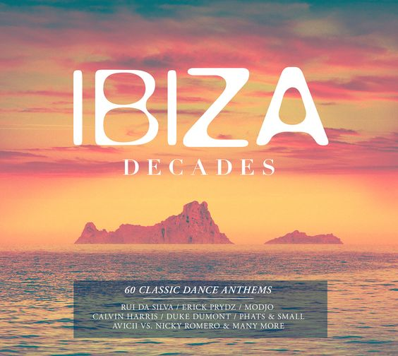 Ibiza decades album cover design by bolder creative for for Classic house anthems