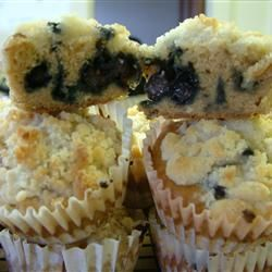 Mulberry Muffins--added two handfuls of raisins, beat in the mulberries so they were spread around, and baked in mini-muffin tin for 10 min.