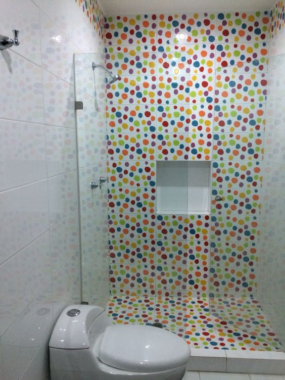 Baños Ninos Azulejos:Ágatha Ruiz de la Prada Mosaicos decorativos colores Ideal para