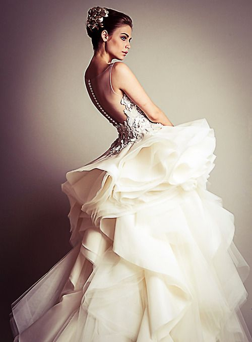Fuck Yeah Fashion Couture | Krikor Jabotian Haute Couture Winter 2013