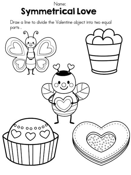 math worksheet : valentine s day kindergarten math worksheets  kindergarten math  : Kindergarten Valentine Math Worksheets