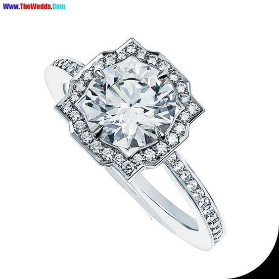 pave engagement harry winston wedding rings