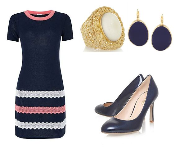 Pink Julep: Daily Style February 17, 2014 - Navy & Pink, Better Together
