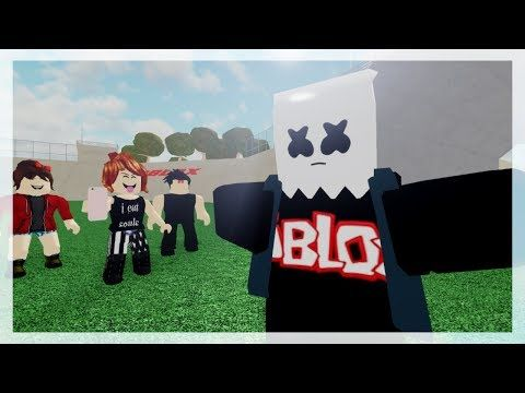 Lilly On Twitter Please Send Me Links To Your Roblox - Roblox Bully Story Alone Marshmello Part 3 Youtube