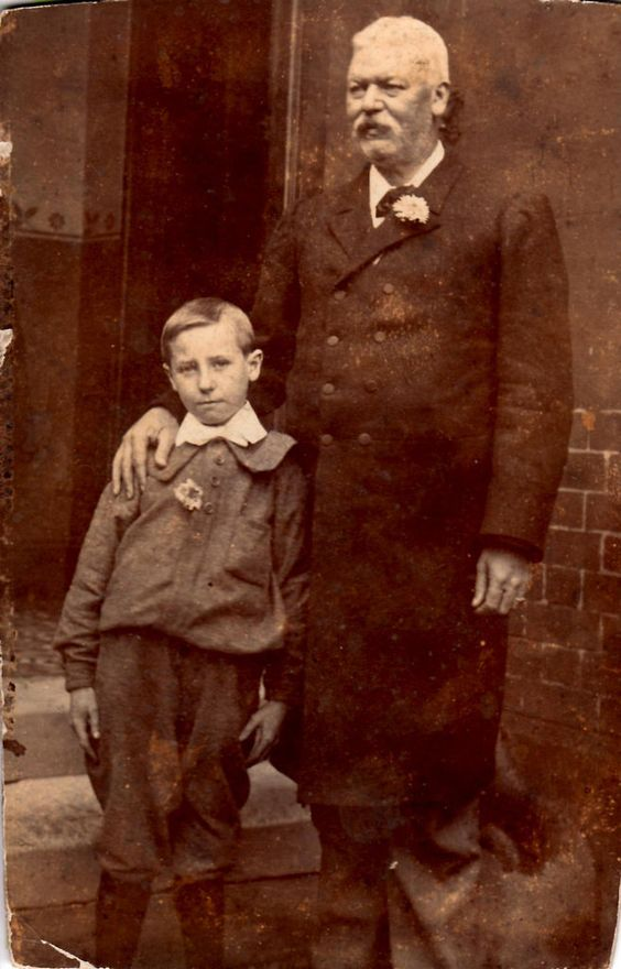 All sizes | Grandad Brown and John | Flickr - Photo Sharing!