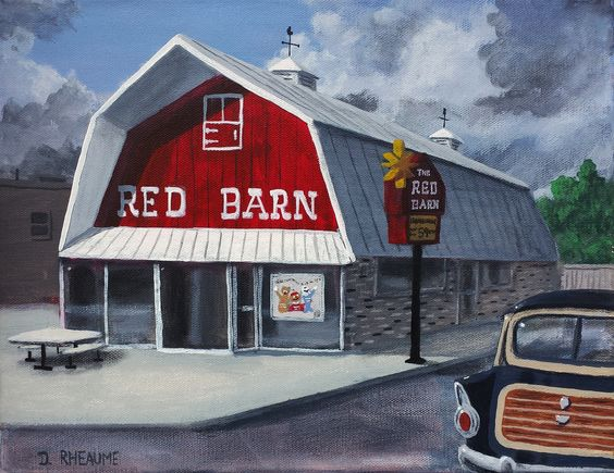 The Red Barn.  There are still a few of these buildings left...repurposed for other retailers. www.daverheaume.com