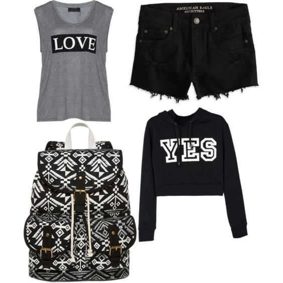 Untitled #273 by evanmonster on Polyvore featuring polyvore fashion style Carmakoma American Eagle Outfitters SM New York