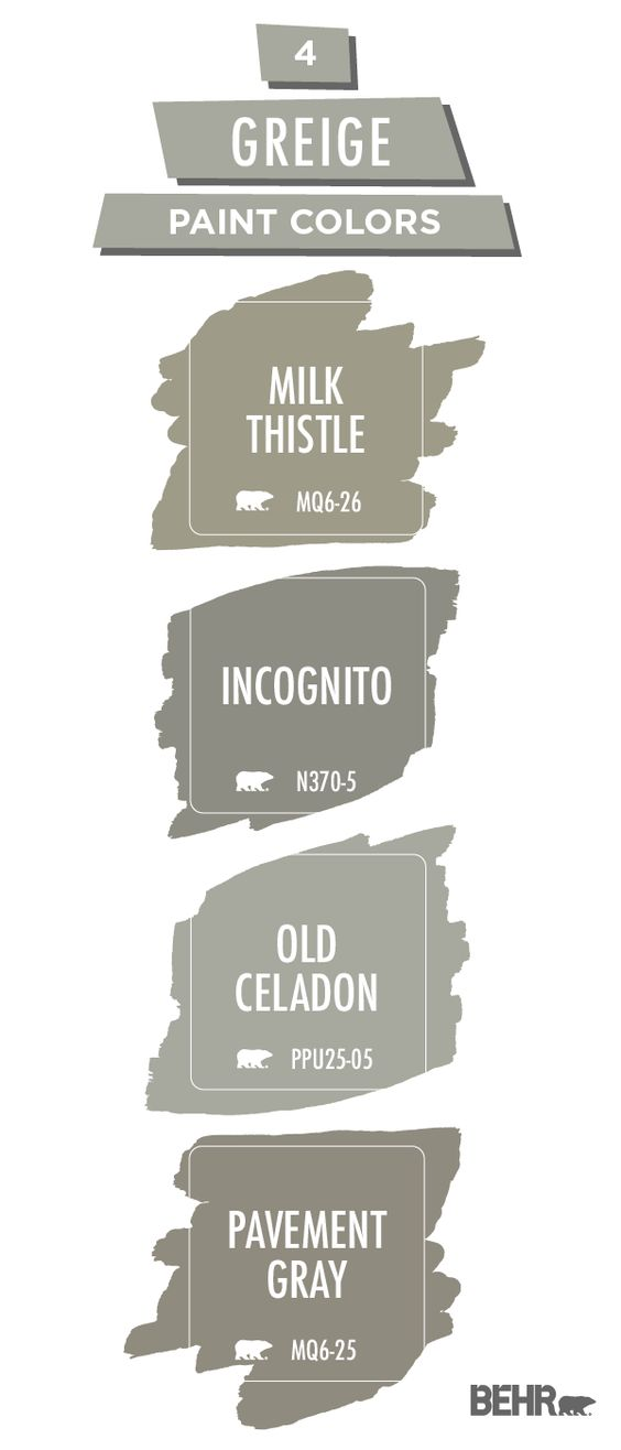 Bringing A Modern Twist To A Timeless Interior Design Trend Greige Walls Are All The Rage In H Paint Colors For Home Farm House Colors Farmhouse Color Palette