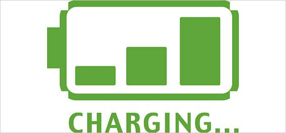 Battery Charging Half Plugged Icon - Free Icons