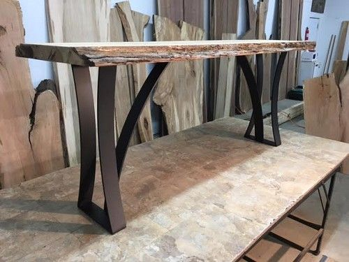 Steel Sofa Table Base Ohiowoodlands Metal Console Table Legs