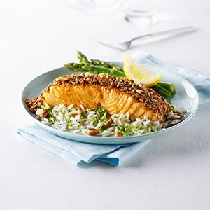 Pecan crusted salmon, Crusted salmon and Pecans on Pinterest