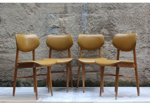 Scandinavian Dining Chairs 1950s Set Of 4 Scandinavian Dining Chairs Furniture Making Vintage Furniture
