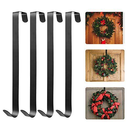 10 99 Homemaxs Metal Wreath Hanger Over The Door Wreath Holder 4