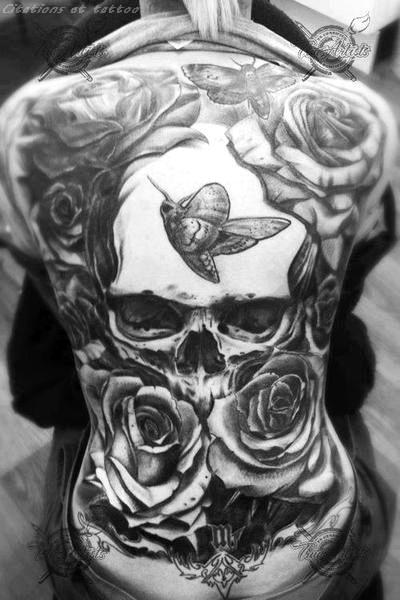 Sick back! #tattoo #tattoos #ink #inked