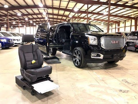 2015 Gmc Yukon Xl Denali 4x4 Wheelchair Accessible Mobility Suv