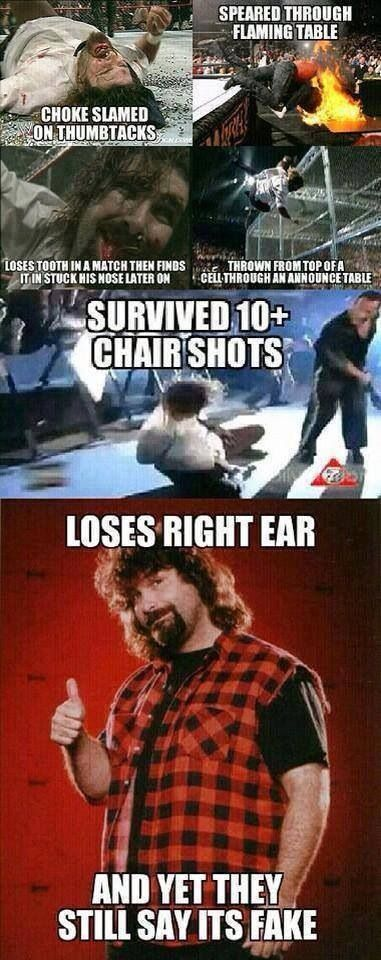 People need to under stand how dangerously real WWE really is