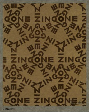 Design for Wrapping-paper: Zingone - M.C. Escher, 1933